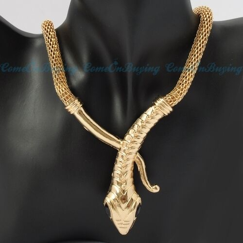 Fashion Golden Chain Style Jewelry Snake White Rhinestone Pendant Necklace N1968 in Jewelry & Watches, Fashion Jewelry, Necklaces & Pendants | eBay