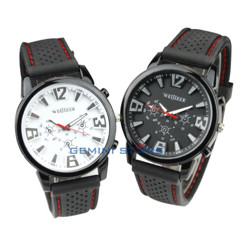 Fashion Military Pilot Aviator Army Style Silicone Men Outdoor Sport Wrist Watch in Jewelry & Watches, Watches, Wristwatches | eBay