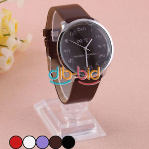 Fashion-Unisex-Analog-Stainless-Steel-Back-Plate-Wrist-Watch-Leather-Strap-22