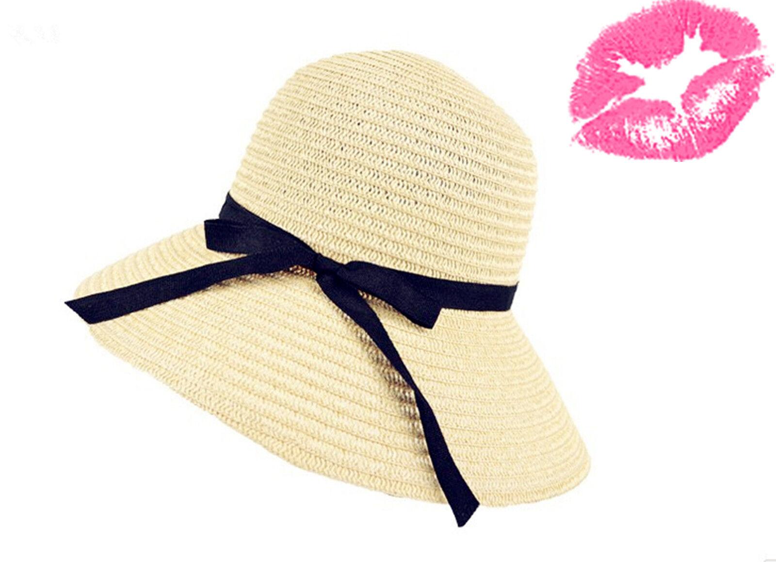 fashion chic straw cap womens topper summer