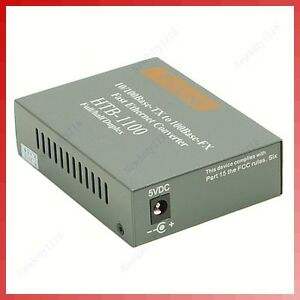 Ethernet Fibre Optic on Fast Ethernet Fiber Fibre Optic Media Multi M Converter   Ebay