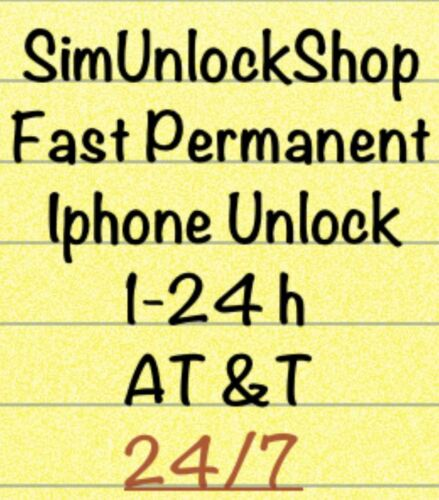 Fast permanent iphone unlock service AT&T (6-24h) iphone 3gs , 4 ,4s ,5 in Specialty Services, Other Services | eBay