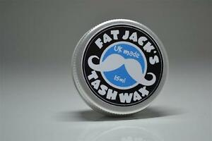 Fat-Jacks-Tash-Wax-Moustache-Wax-15ml-Tin-UNSCENTED-UK-MADE-Mustache-Movember