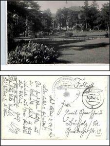 Feldpost-Postkarte-1940-Weltkrieg-World-War-II-Postcard-Bedarfspost-gelaufene-AK