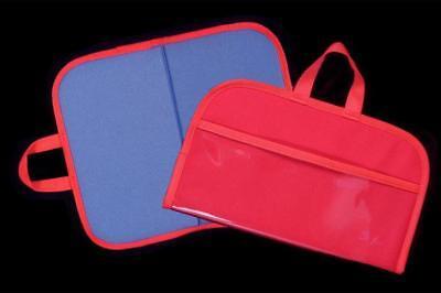 Felt / Flannel Board w/ handles & storage 14.5 X17 RED