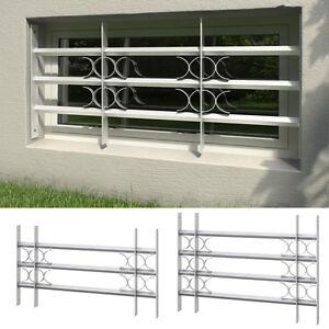 fenstergitter sicherheitsgitter fenster einbruchschutz gitter feuerverzinkt ebay. Black Bedroom Furniture Sets. Home Design Ideas