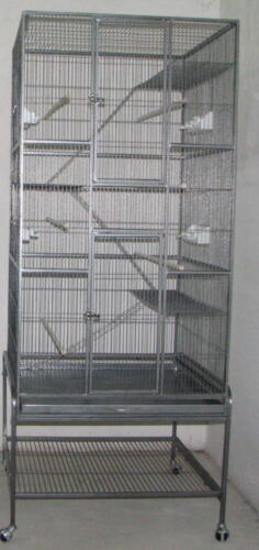 Ferret Chinchilla Rat Bird Sugar Glider WROUGHT IRON Cage 4 colors available in Pet Supplies, Small Animal Supplies | eBay