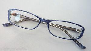Fetzige Damenbrille Jeansmuster Acetatfassung schmale Glasform preiswert GR: M - <span itemprop=availableAtOrFrom>Merzig, Deutschland</span> - Widerrufsbelehrung Widerrufsrecht Sie haben das Recht, binnen einem Monat ohne Angabe von Gründen diesen Vertrag zu widerrufen. Die Widerrufsfrist beträgt einen Monat ab dem Tag an dem Sie  - Merzig, Deutschland