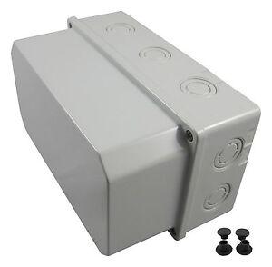 Feuchtraumgehaeuse-Schaltkasten-Verteilerkasten-Sicherungskasten-Klemmkasten-NEU