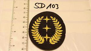 Feuerwehr-Armabzeichen-Lorbeerkranz-gelb-mit-3-Sterne-1-Stueck-sd103
