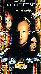 The Fifth Element (VHS, 1997, Closed Cap...
