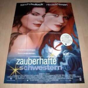 Filmposter-A0-Practical-Magic-Zauberhafte-Schwestern