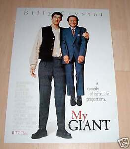 Filmposter-Neu-gerollt-Plakat-My-Giant-Billy-Crystal