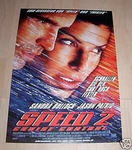 Filmposter-gerollt-Neu-Plakat-Speed-2-Sandra-Bullock