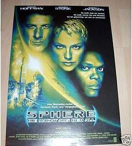 Filmposter-gerollt-Neu-Sphere-Die-Macht-aus-dem-All