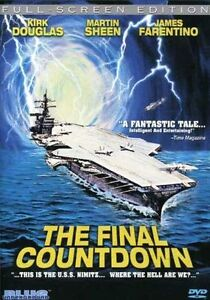 The Final Countdown (DVD, 2004, Full Fra...