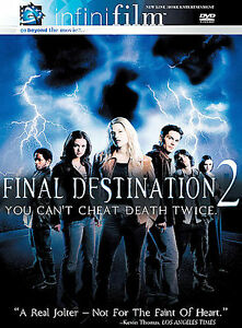 Final Destination 2 (DVD, 2003, Infinifi...