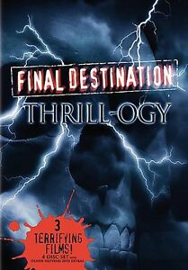 Final Destination - Vol. 1-3 (DVD, 2006)