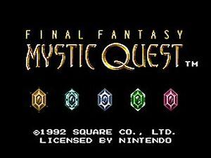 Final Fantasy: Mystic Quest  (Super NES,...