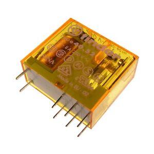 Finder-40-52-8-230-Relais-230V-AC-2xUM-8A-250V-AC-Relay-Steck-Print-069242