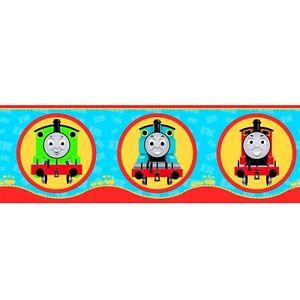 Fine Decor Thomas the Tank Engine & Friends Children Kids ... Thomas And Friends Wallpaper Border