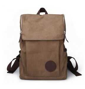 new casual canvas backpack cool school bags