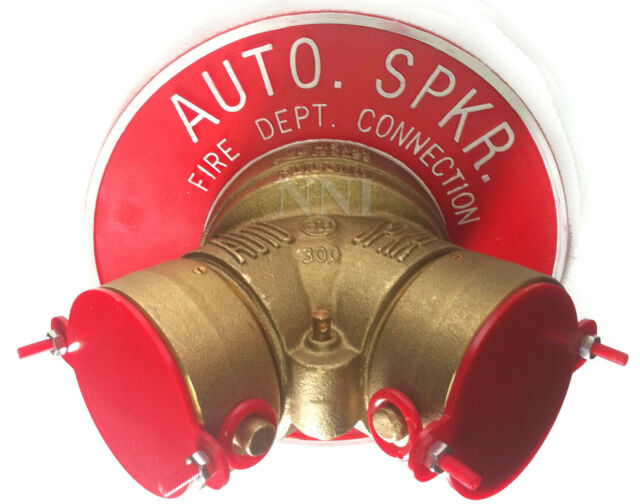 """4"""" X 2-1/2"""" Y Siamese Fire Department Connection Complete ..."""