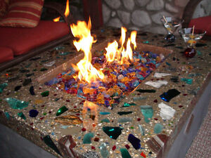 Fire Pit Glass Rocks Fire Place Rock Fireplace EBay