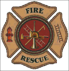 free cross stitch patterns for firefighters