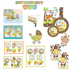 fisher price baby shower jungle party supplies you pick decor plates