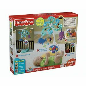 Fisher Price Discover And N Grow Ocean Fish Crib To Floor