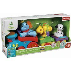 Fisher-Price Disney Baby Amazing Animals Sing-Along Choo-Choo
