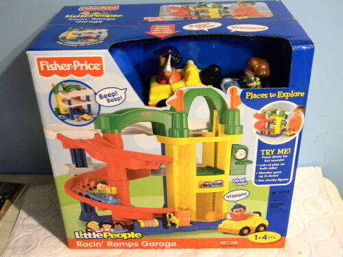 Little people fisher price pirate ship ages 1 4 toy - Fisher price little people racin ramps garage ...