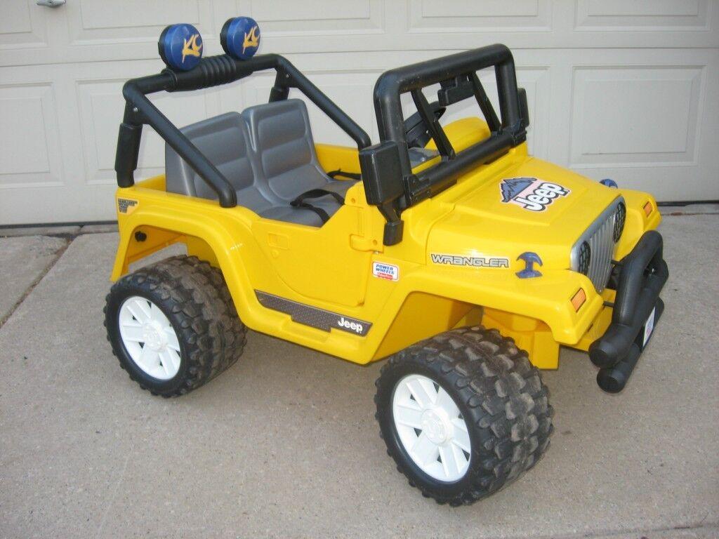 Fisher Price Power Wheels Jeep Wrangler