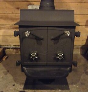 Stove For Sale: Fisher Grandpa Bear Wood Stove For Sale