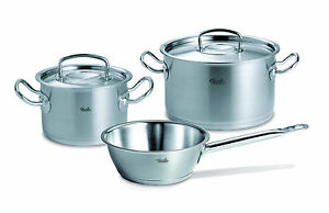 fissler topfset orig profi collection 3 tlg cookstar induktion mit. Black Bedroom Furniture Sets. Home Design Ideas