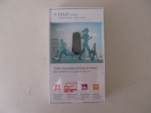 Fitbit One Wireless Activity & Sleep Tracker Black Brand New in Sporting Goods, Exercise & Fitness, Running | eBay