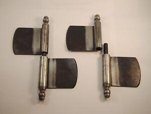 fitschenband scharnier schrank t r restaurierung eisen din rechts ebay. Black Bedroom Furniture Sets. Home Design Ideas
