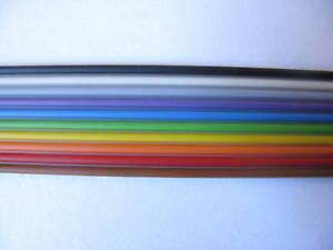Flachkabel-10pol-Regenbogen-farbig-Preis-pro-Meter