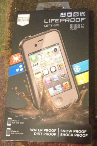 Flat Dark Earth Lifeproof case for Iphone 4 / 4s , 100% AUTHENTIC!! Registered!! in Cell Phones & Accessories, Cell Phone Accessories, Cases, Covers & Skins | eBay
