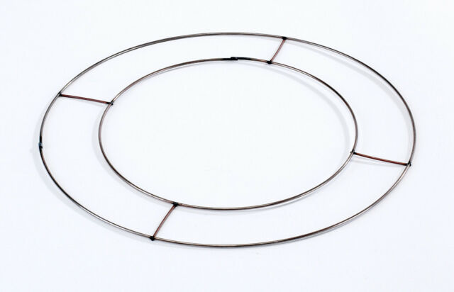 Flat Wire Wreath Round Ring