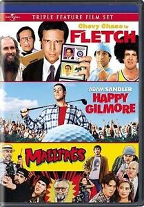 Fletch / Happy Gilmore / Mallrats (DVD, ...