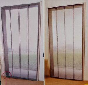 fliegengitter insektenschutz lamellen t r insekten vorhang 95x220 100x220 ebay. Black Bedroom Furniture Sets. Home Design Ideas