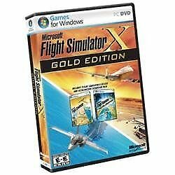 Flight Simulator X: Gold Edition  (PC, 2...