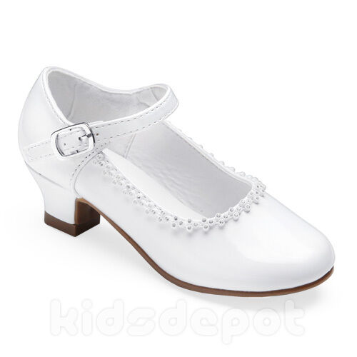 flower rhinestone dress shoes pageant formal