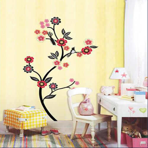 Flowering Tree Adhesive Removable Wall Home Decor Accents Stickers Decal & Vinyl in Home & Garden, Home Decor, Decals, Stickers & Vinyl Art | eBay