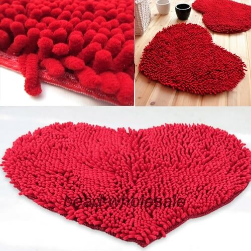 red bathroom rugs - gallery image lautarii