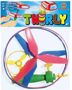 flugkreisel 2 rotor twirly propellerspiel spiel f r drau en mit startgriff neu o ebay. Black Bedroom Furniture Sets. Home Design Ideas