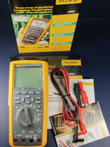 Fluke 289 True RMS Industrial Logging Multimeter (NEW) in Business & Industrial, Electrical & Test Equipment, Test Equipment | eBay