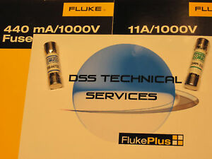 Fluke 440 ma AND 11 amp HIgh Voltage Fuse Pack - NEW in Business & Industrial, Electrical & Test Equipment, Test Equipment | eBay